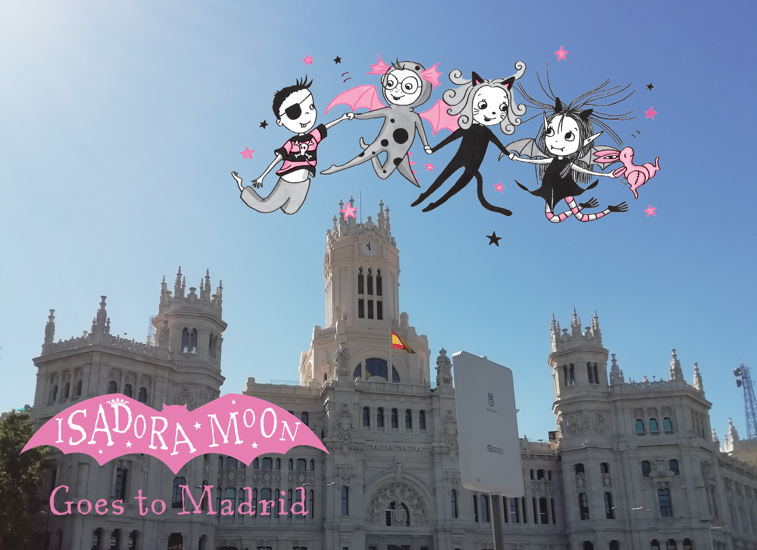 Isadora Moon Goes to Madrid Header